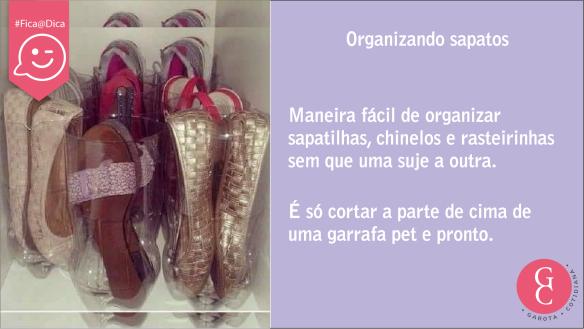 Dika organizar sapatos