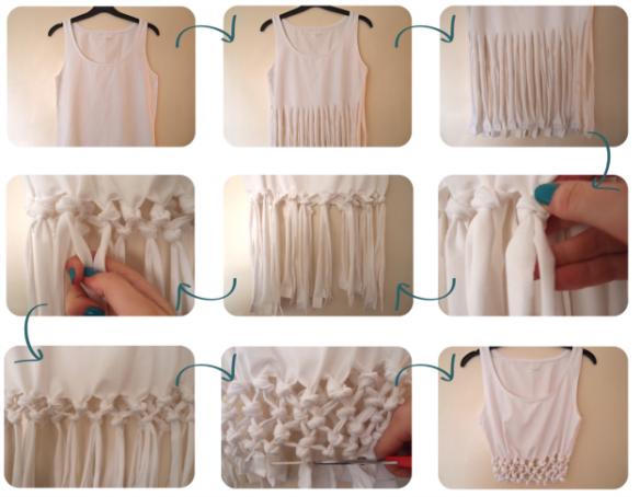 DIY blusa